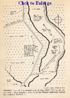 Bluff Creek Map
